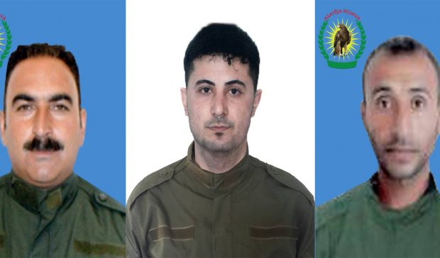 Photo of Asayiş forces disclose record of 3 martyrs