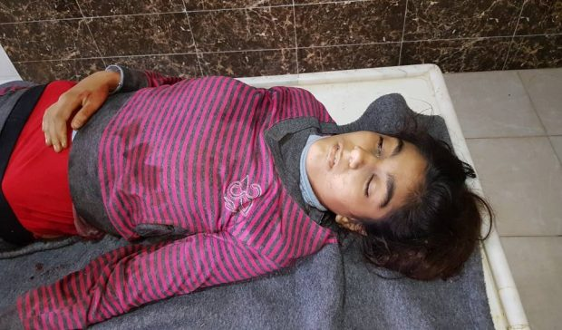 Photo of Martyrdom of  girl, 8 other civilians were wounded by shelling on Basoti