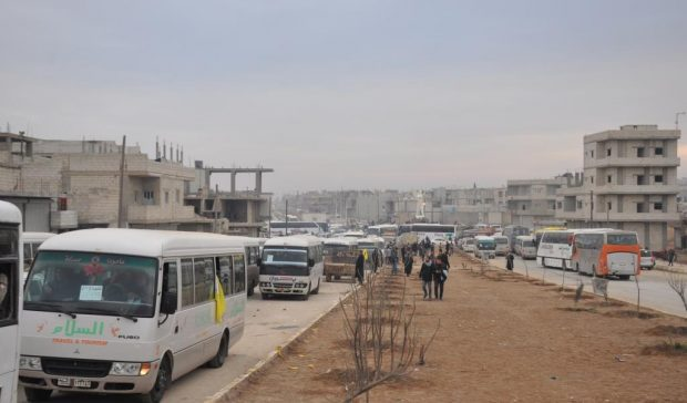 Photo of Thousands of demonstrators go to Afrin