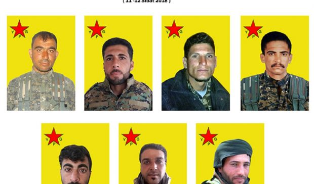 Photo of YPG release record of al-Jazeera Tempest's martyrs