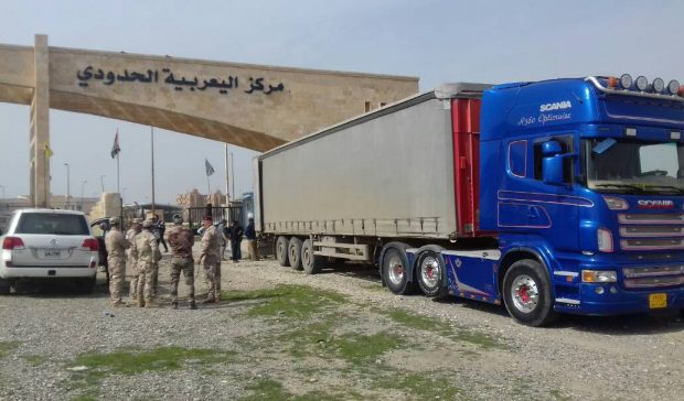 Photo of Humanitarian aid convoy entered northern Syria from  Tal Koçer crossing