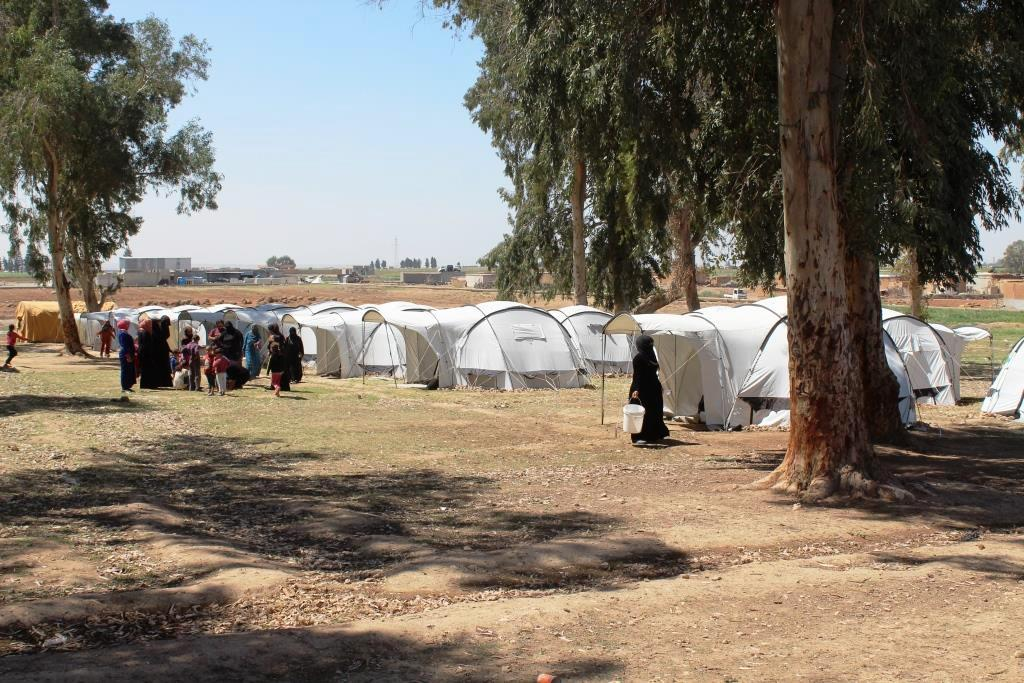 Photo of Al-Raqqa's camps increasing, orgs still stick to inaction