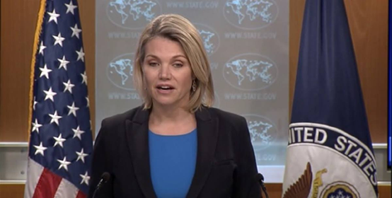 Photo of U.S. Welcomes Saudi Contribution for Stabilization Efforts in Syria Heather Nauert Department Spokesperson