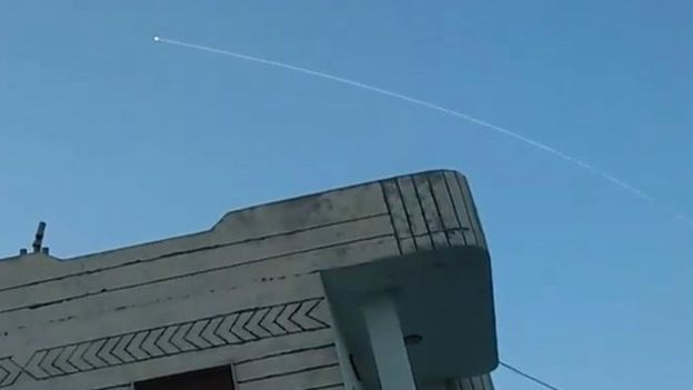 Photo of Military sources in Syria: Air defense systems address a rocket attack by Israel on Damascus International Airport