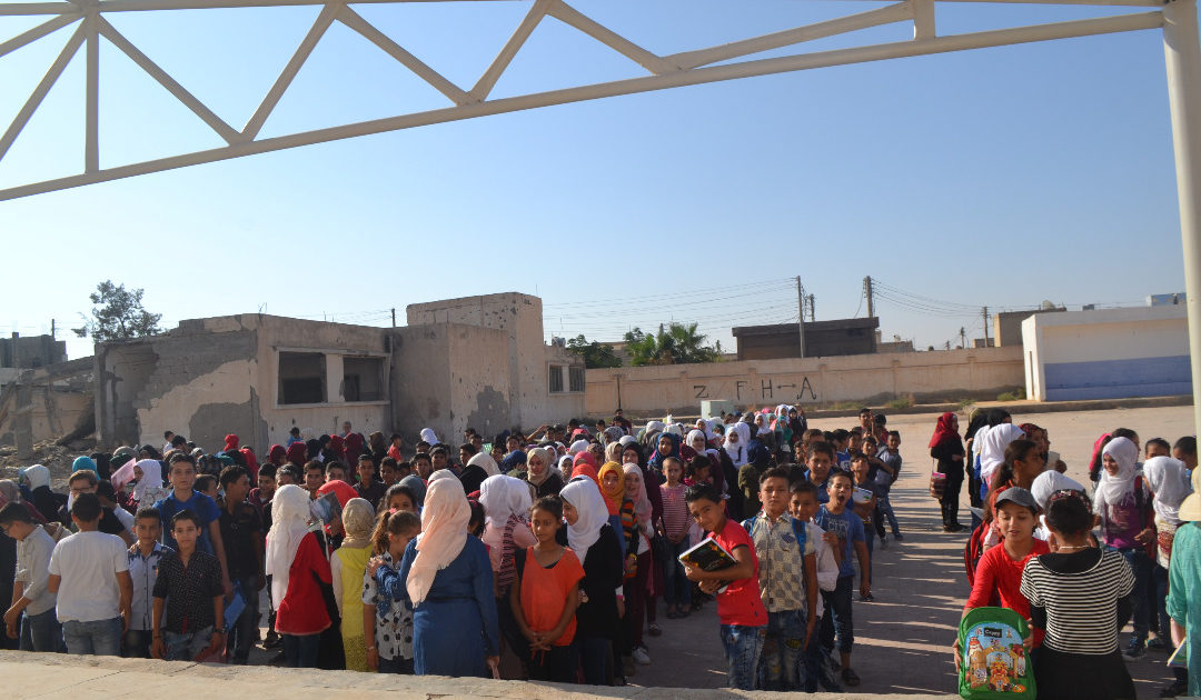 Photo of Tabqa Schools Open To Students