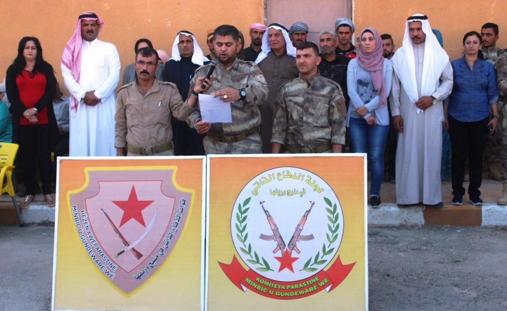 Photo of 200 Members Of Manbij Young Men Begin Volunteering For The Duty Of Self-Defense