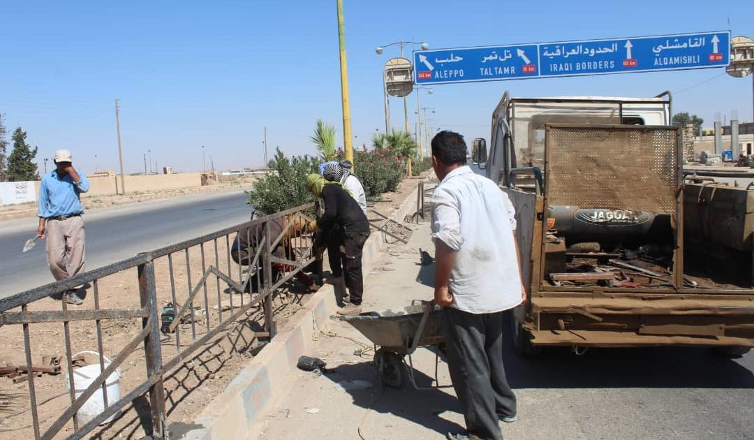 Photo of People's Municipality Begins Fencing Street Dividers Project