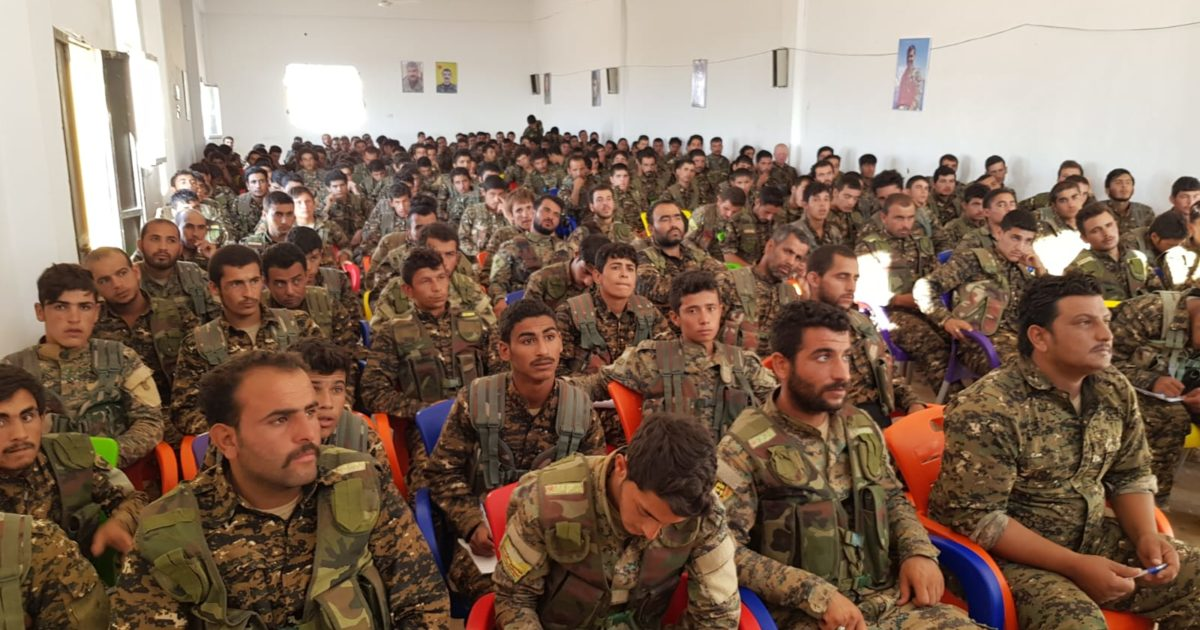 """Photo of Training Of Martyr  """"Allend Tal Hamis Regiment"""""""