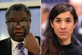 Photo of 2018 Nobel Peace Prize Awarded to Yazidi Activist and Congolese Doctor