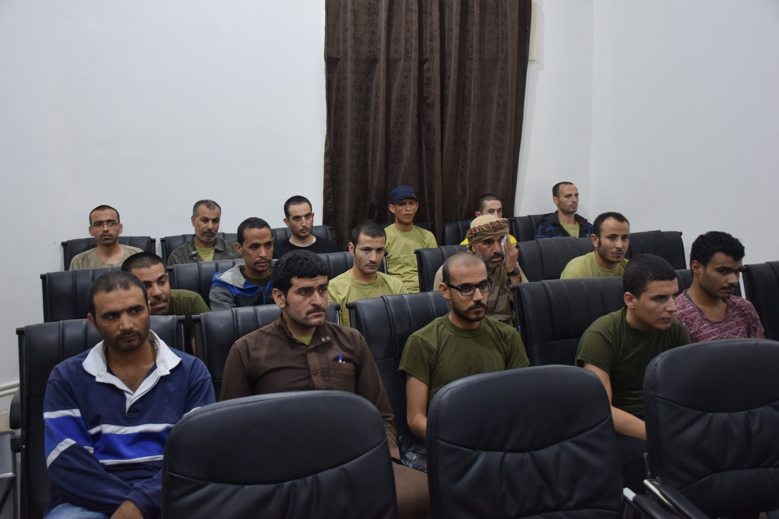 Photo of With an initiative of goodwill, SDF released 17 IS detainees