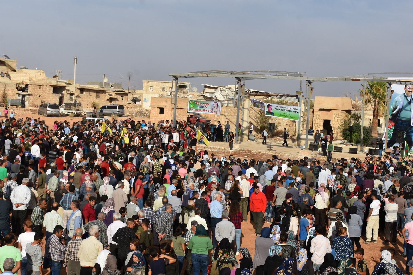 Photo of Thousands of Afrin people condemned international plot against Ocalan