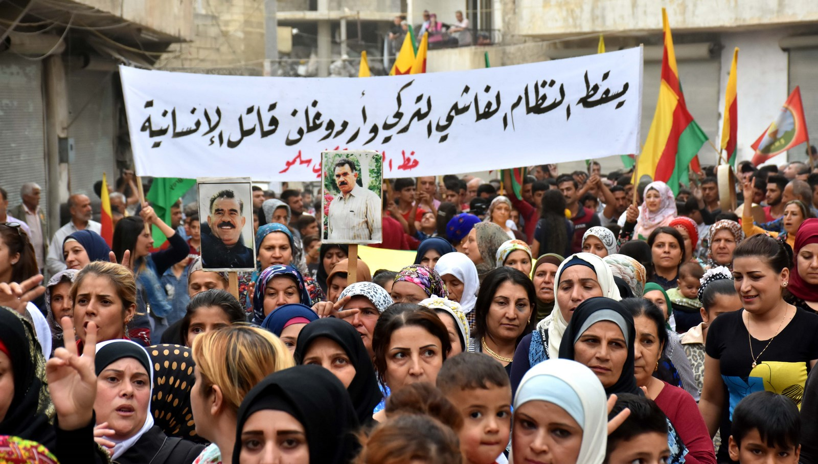 Photo of Thousands demanded Ocalan's freedom and Afrin's liberation