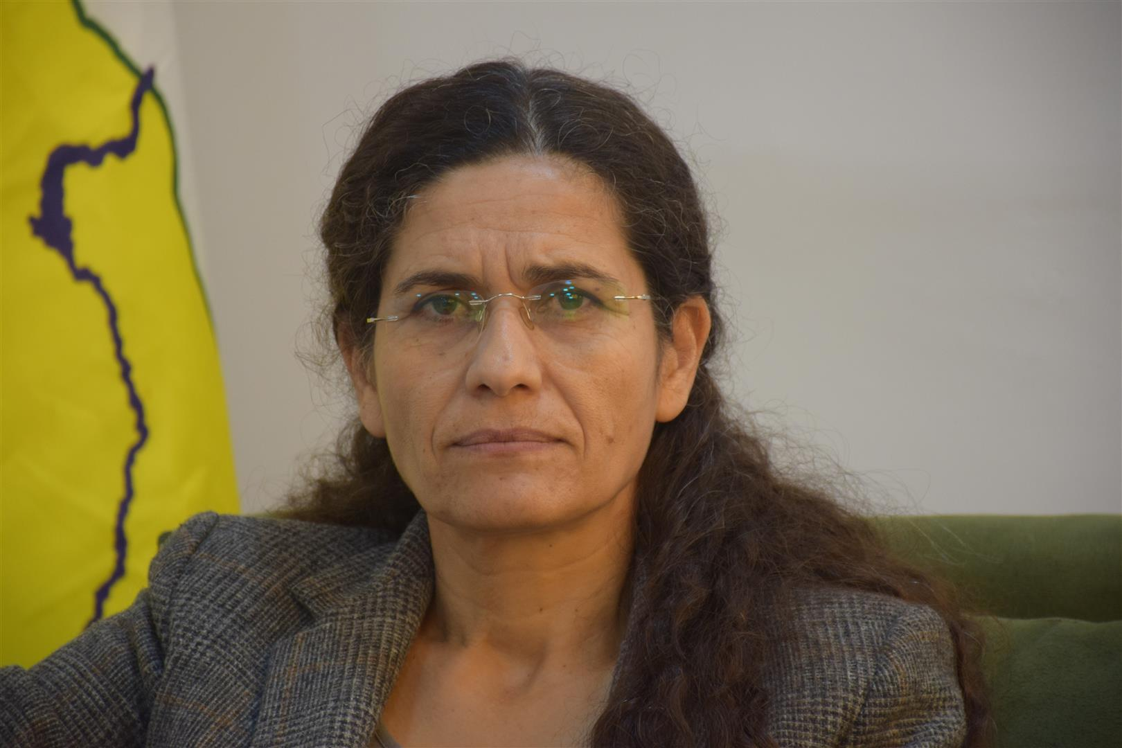 Photo of Elham Ahmed: Rule in Syria according to old constitution to bring disaster to Syrians
