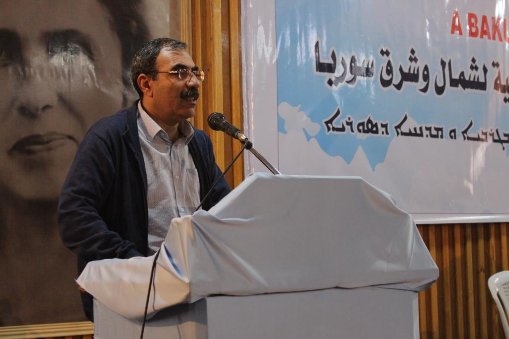 Photo of Eldar Khalil: democratic nation is basis for education in Rojava