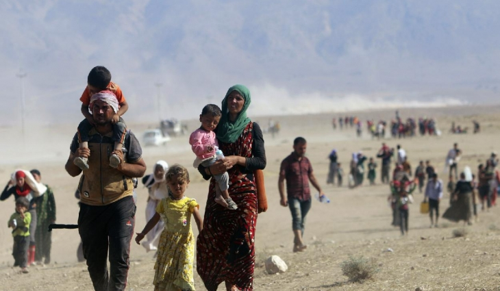 Photo of Yazidi campaigners use social media to call for road opening