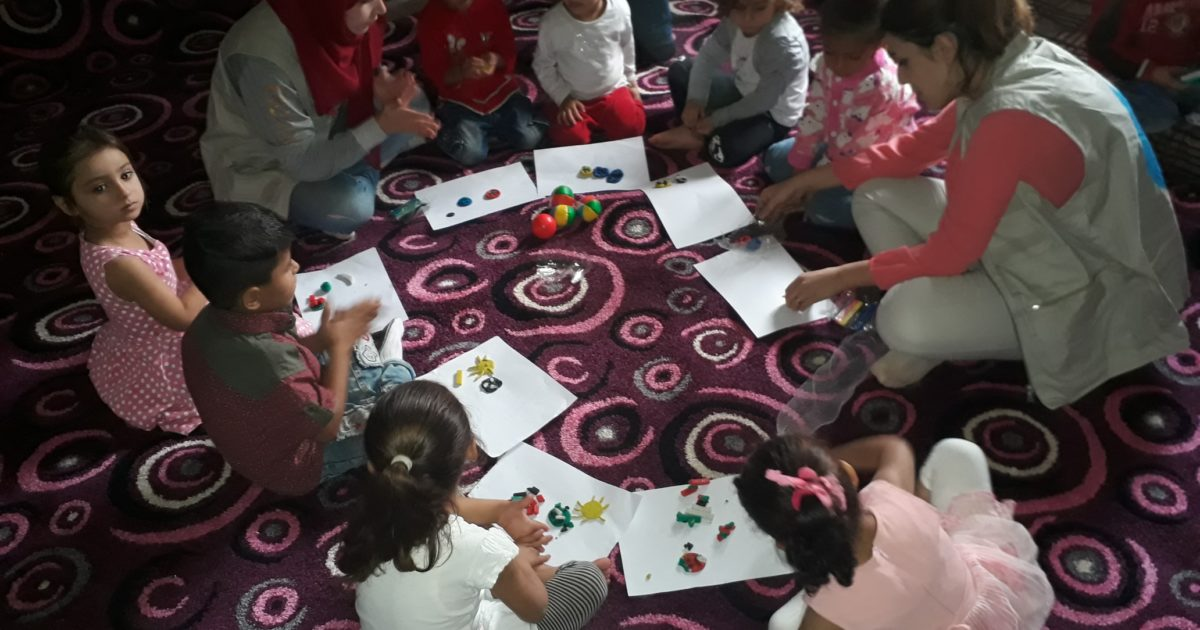 """Photo of / 50 / Child Receive Psychosocial Support In """"Friends Of Childhood"""" Cente"""