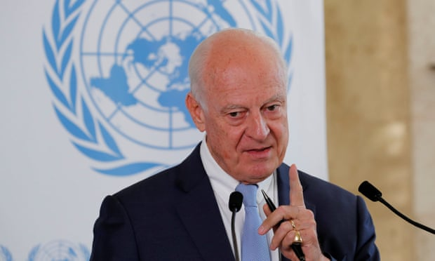 Photo of UN's outgoing Syria envoy wants regime to stop being obstructive