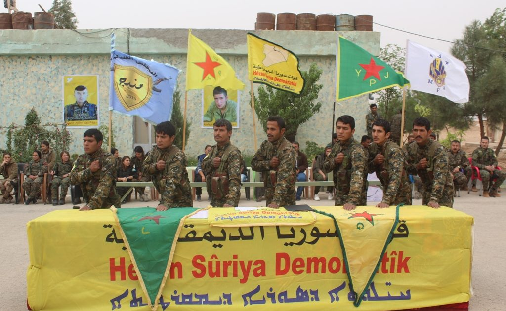 Photo of (50) Fighters Join With The SDF