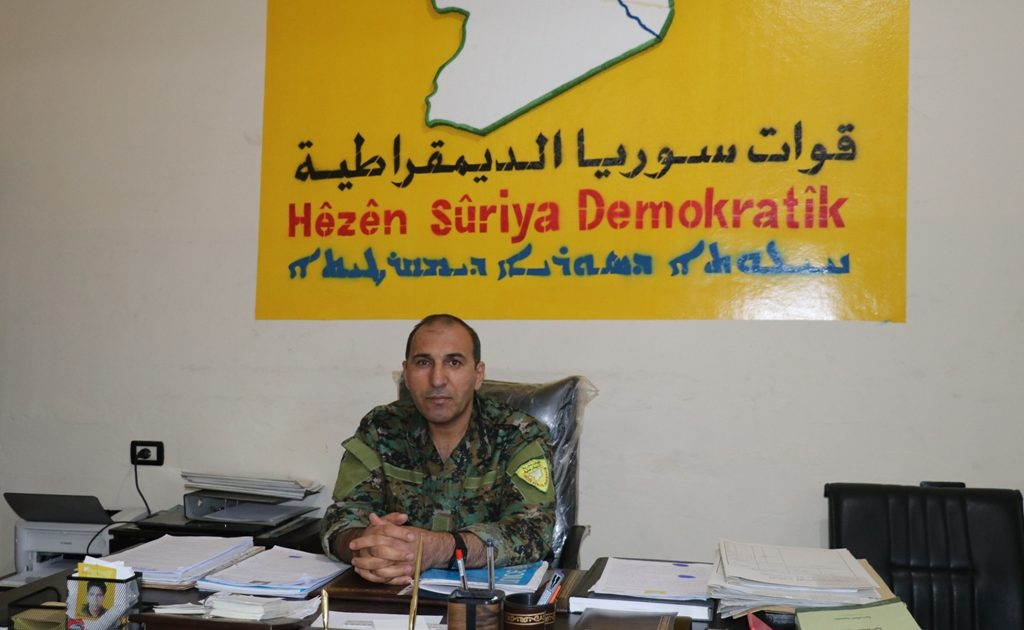Photo of A Leader In SDF : Turkish Attacks On Our Areas Is Considered As Aid Hand For ISIS