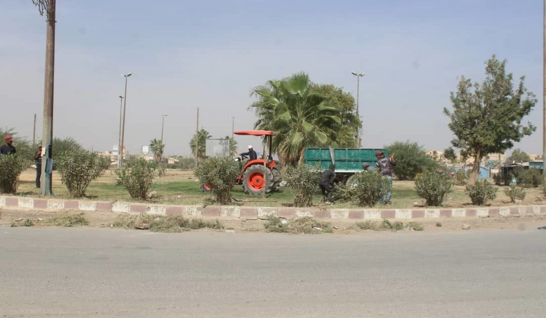 Photo of Rehabilitation Of The Farmer's Roundabout In Raqqa