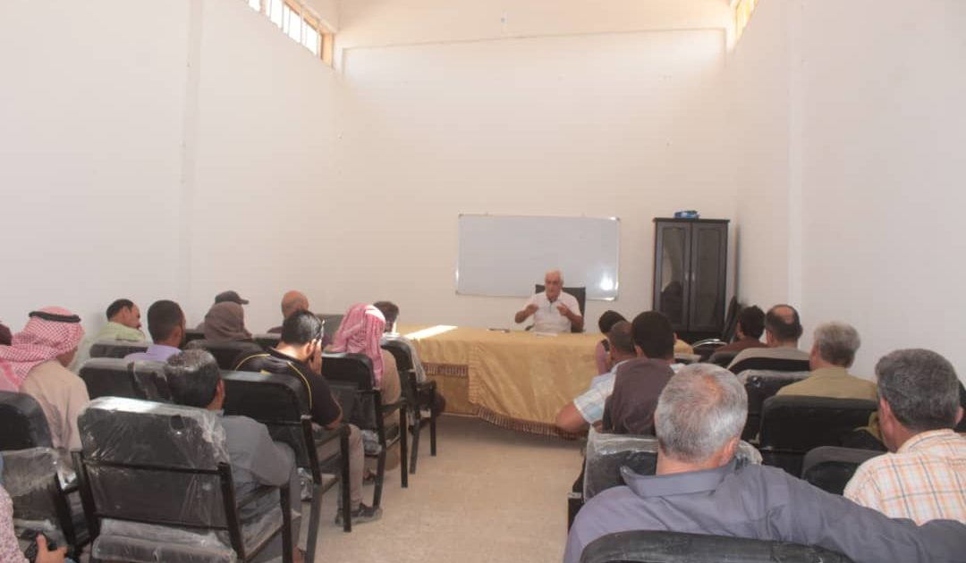 Photo of An Educational Seminar On Agricultural Crops In Raqqa