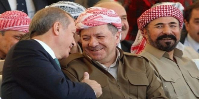 "Photo of Syria puts Barzani, Dari and Erdogan on the list of ""financing terrorism"" in Syria"