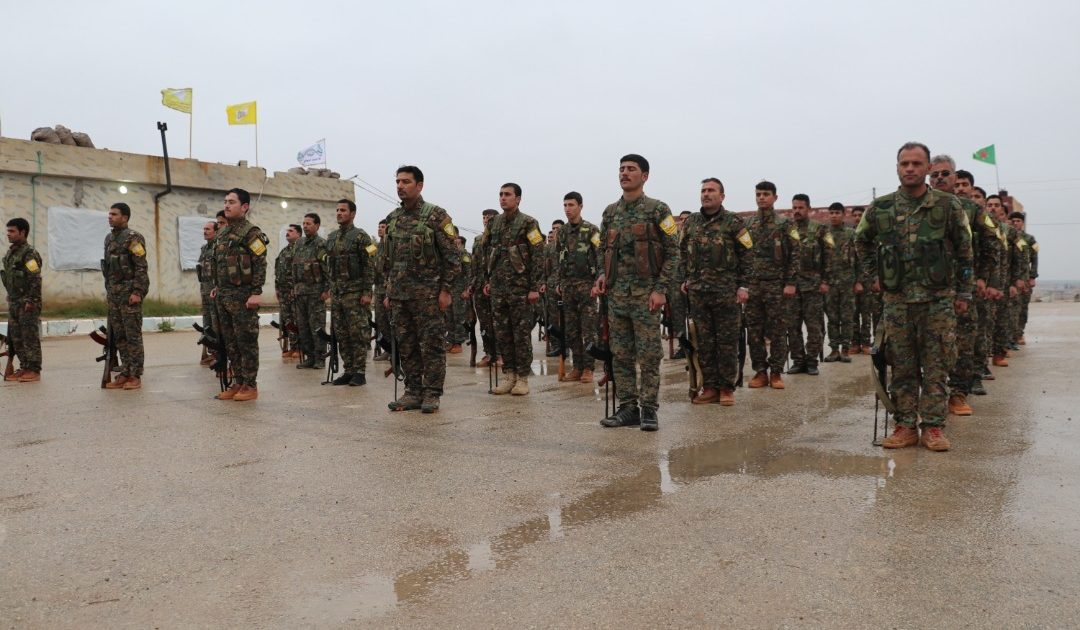 Photo of SDF Graduates Two Military Training Rounds
