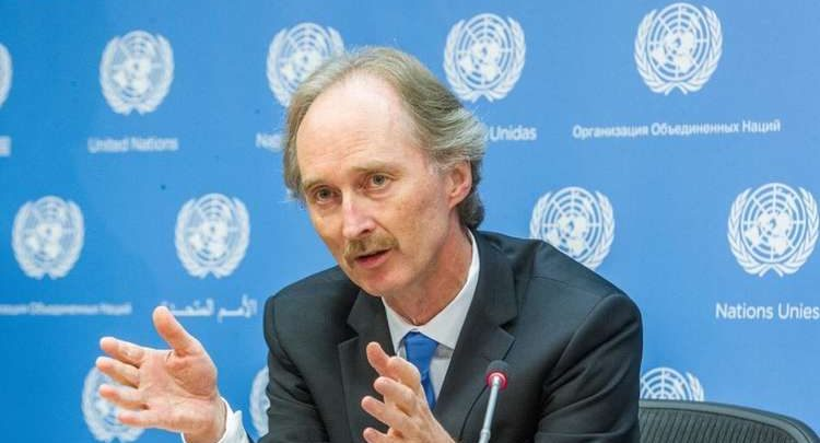 Photo of New UN Envoy for Syria Pedersen Takes Office – Statement