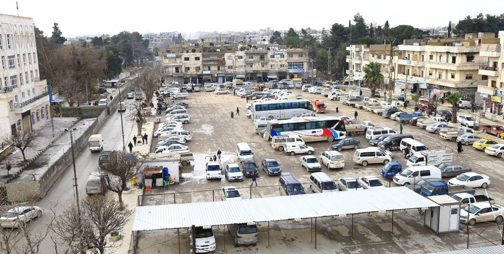 Photo of Manbij residents: We will not accept Turkish occupation