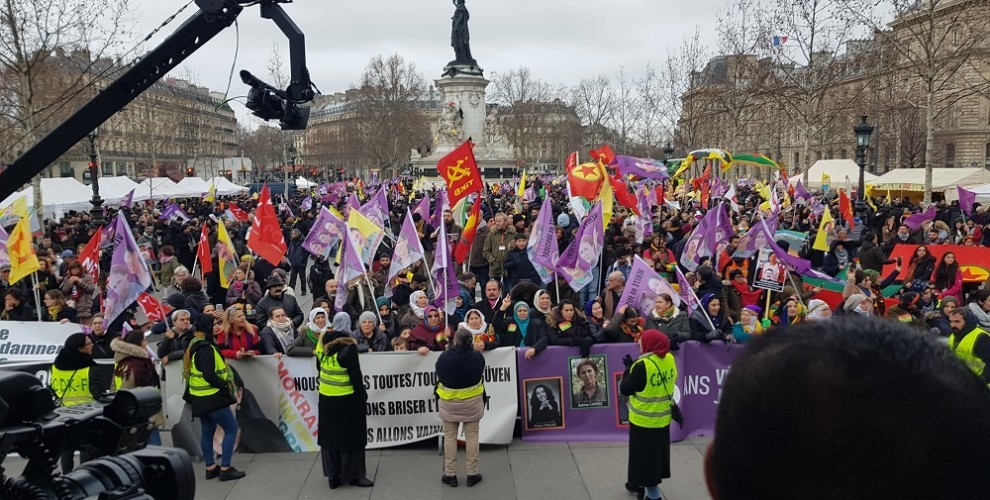 Photo of Thousands demanded justice for Sakine, Fidan and Leyla in Paris