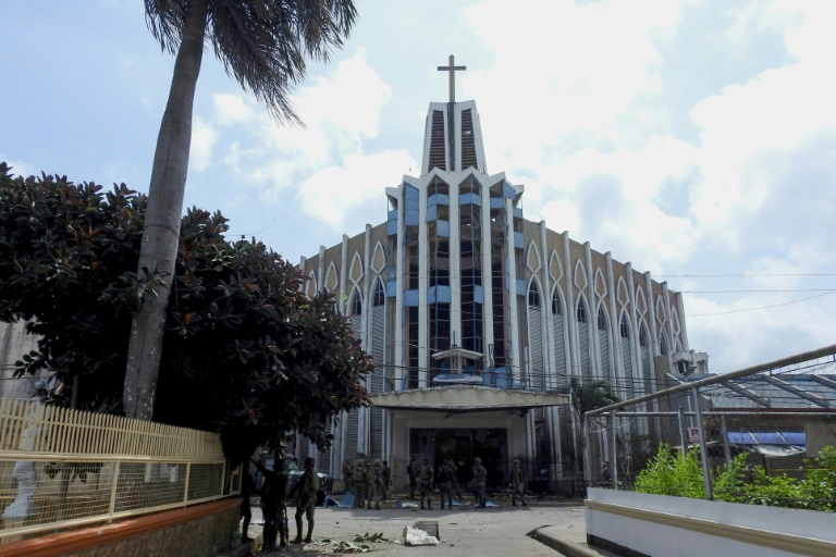 Photo of Philippines cathedral bombing sparks peace process worries