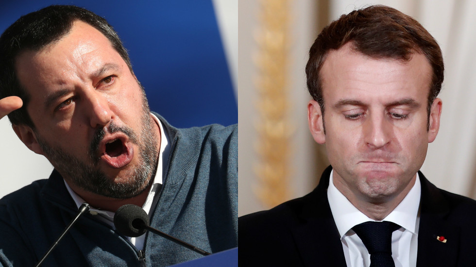 Photo of 'President against his people': Salvini openly backs Yellow Vest protesters, lashing out at Macron