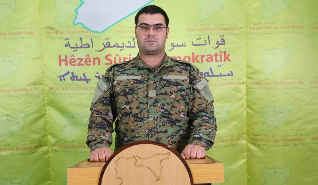 Photo of A Weekly Statement By Kino Gabriel Spokesperson Of SDF 9-1-2019