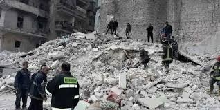 Photo of Building collapses in Syria's Aleppo killing 11