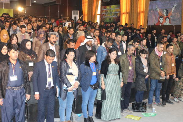 Photo of 2nd Middle East Youth Conference kicks off in Kobanê