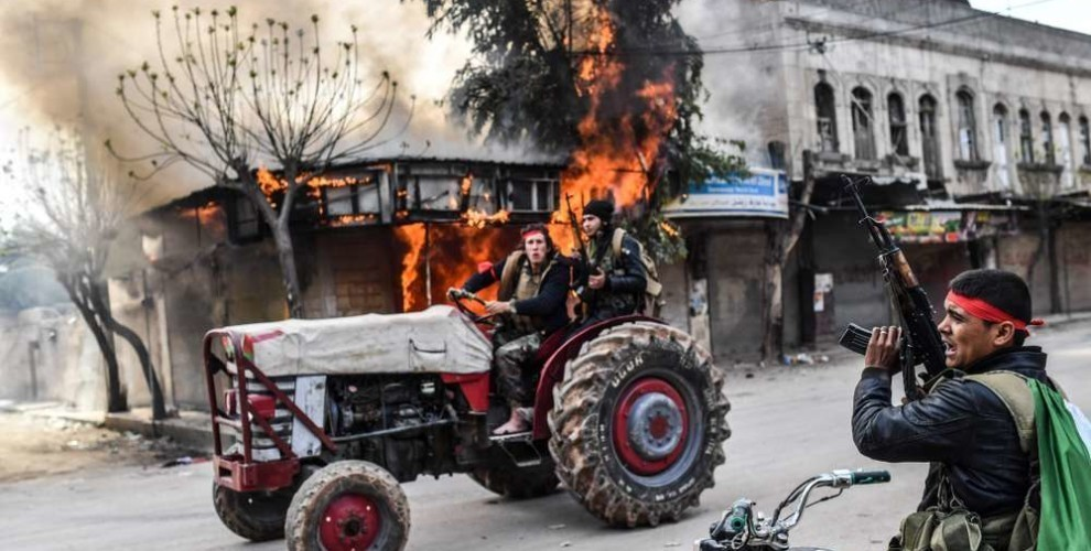 Photo of Gangs in Afrin torture civilians refusing to collaborate