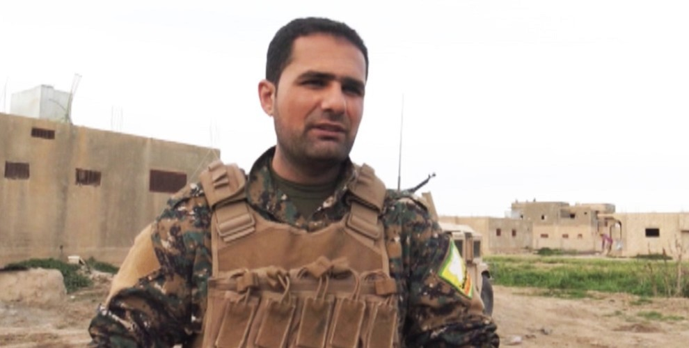 Photo of SDF Commander Efrîn: SDF will finish off ISIS