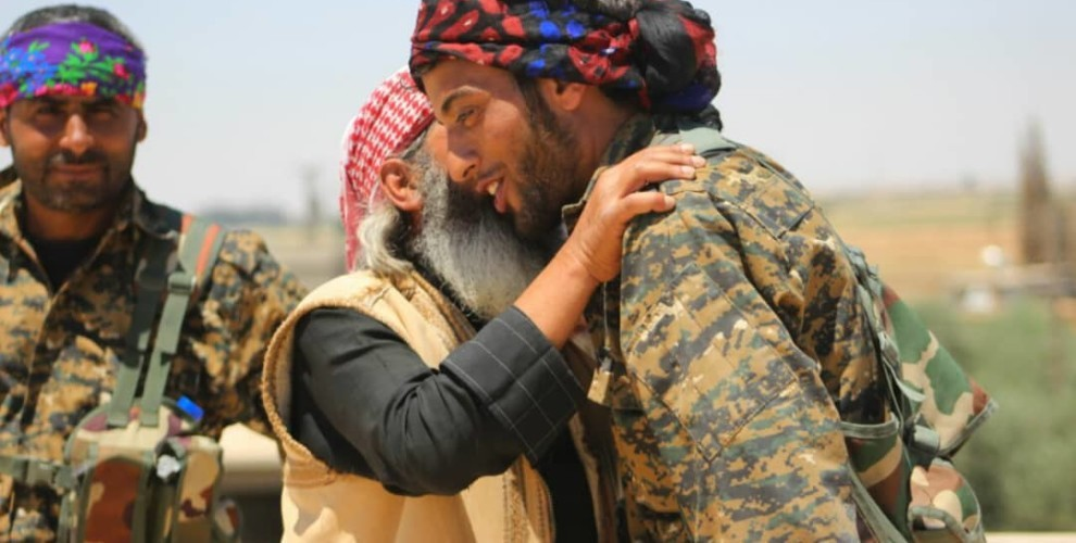 Photo of SDF rescued another group of civilians
