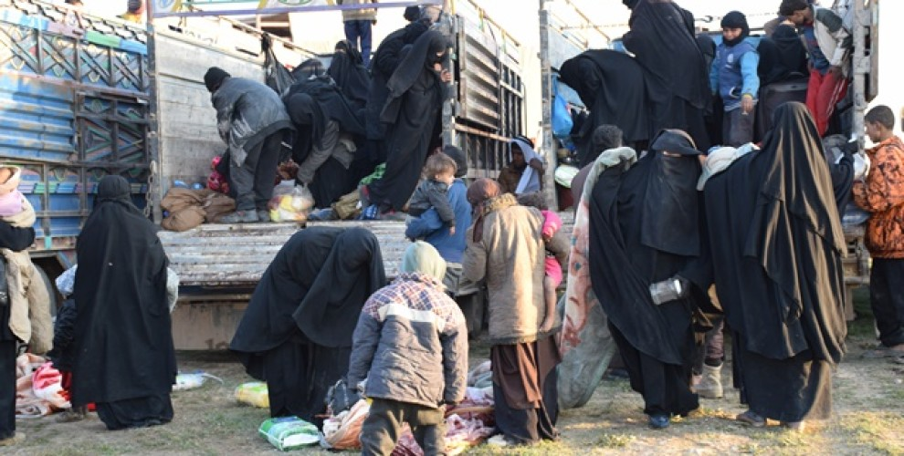 Photo of Group of gang families and migrants arrive in Hawl Camp
