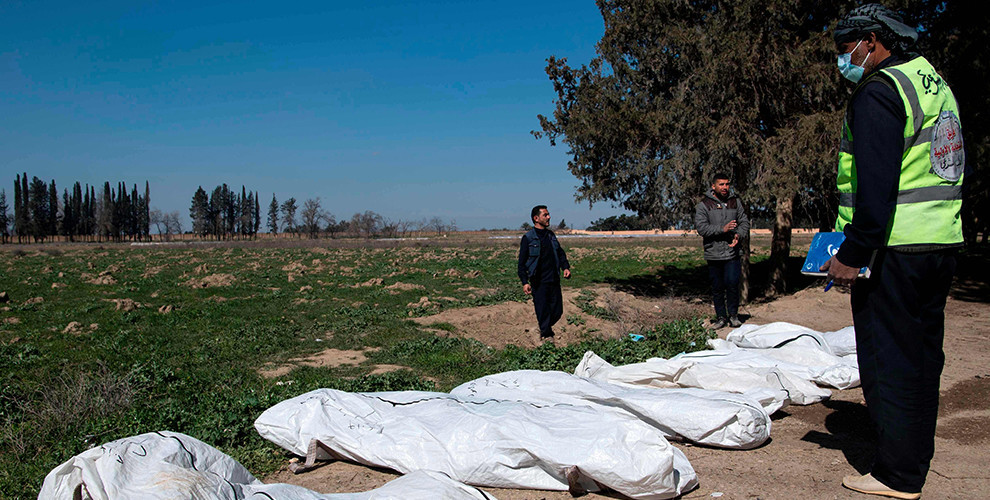 Photo of Largest ISIS mass grave discovered in Raqqa