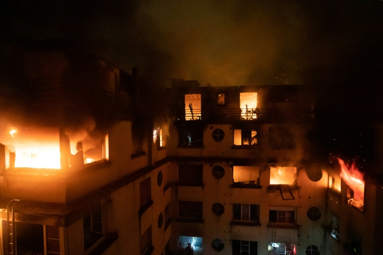 Photo of Eight dead in possible arson attack at Paris apartment block