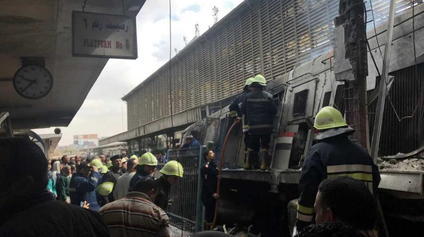 Photo of Fire at Cairo's Main Train Station Leaves Casualties
