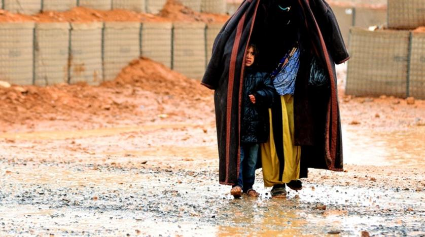 Photo of Aid Reaches Camp for Displaced Syrians in Jordan