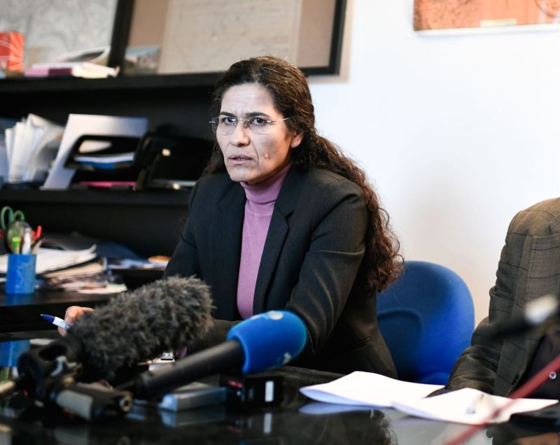 Photo of Syrian Kurdish Leader Asks U.S. to Save Her People From 'Catastrophe'