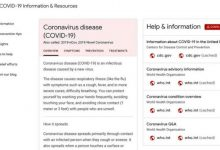 Photo of Google launches coronavirus website with health info, educational resources