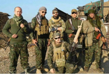 """Photo of """"Socially Dangerous"""" for having fought off ISIS"""