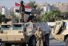 Photo of The Egyptian authorities: 18 militants were killed in clashes with the Egyptian security forces in Sinai