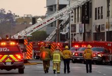 Photo of Los Angeles explosion: 11 firefighters hurt as 'hash oil factory' burns