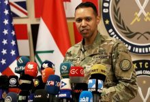 "Photo of International Coalition Forces spokesperson: ""SDF"" is fully capable of preventing ISIS from returning"