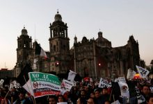 Photo of Protests against police violence spread to Mexico City and protesters threw stones at the US embassy
